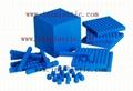 base ten blocks EVA cubes base ten cubes