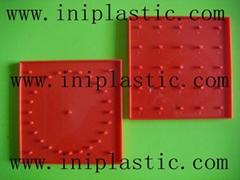 帶橡皮觔的幾何釘板|塑膠模具|塑料模具|塑膠工模