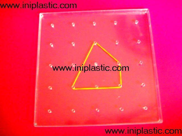 幾何釘板 幾何釘子板 雙面幾何釘子板 2