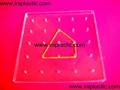 透明幾何釘子板 9