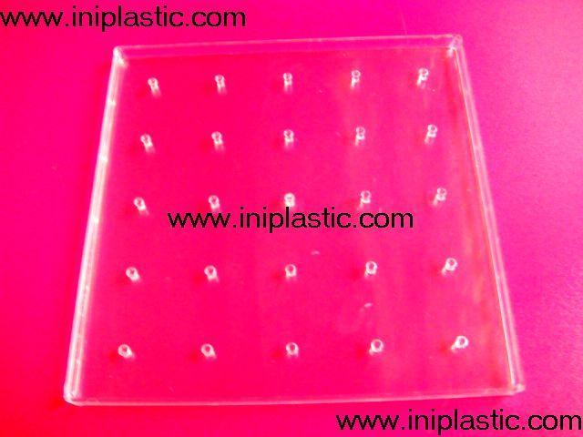 透明幾何釘子板 10