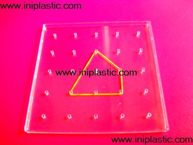 透明幾何釘子板 11