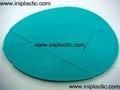 plastic egg puzzle egg shape puzzle