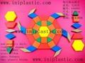 几何图形块 磁性游戏纸币 游戏