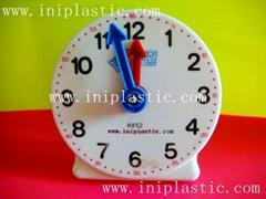 4英吋教學鐘學生學習鐘模型