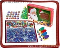custom board game Santa Claus game Christmas game