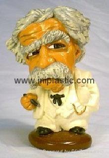 Mark Twain polyresin figurine resin crafts hand craft 2