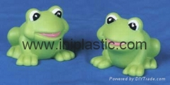 vinyl frogs PVC frog pol