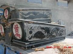 石棺材墓碑墓套