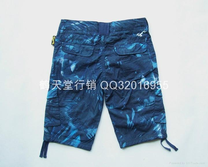 外貿原單男童純棉中褲 2