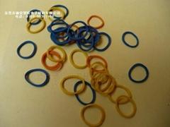 彩色橡膠圈
