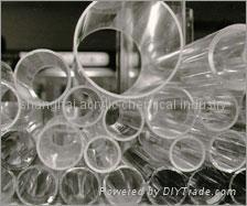 acrylic tube/plastic tube/plexiglass tube