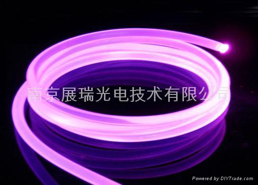 超亮型侧光光纤 通体发光光纤 1