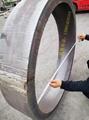 304不鏽鋼卷筒鋼板下料卷圓焊