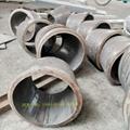 304不锈钢卷筒钢板下料卷圆焊接 2