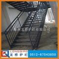 钢管楼梯护栏 2