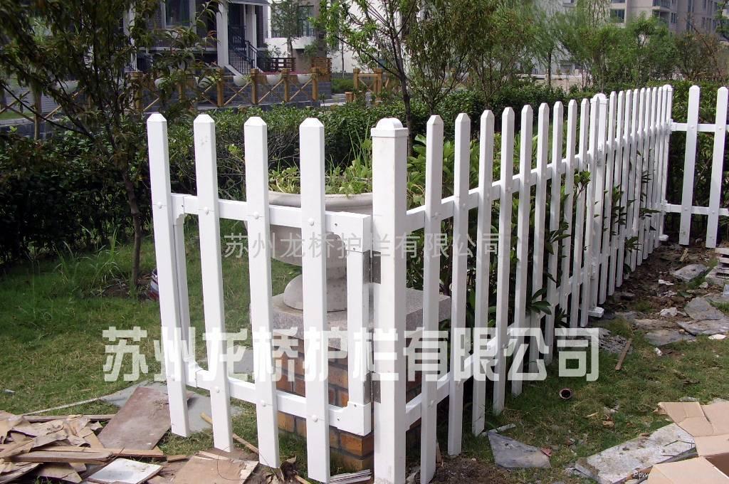 苏州PVC塑钢护栏 1