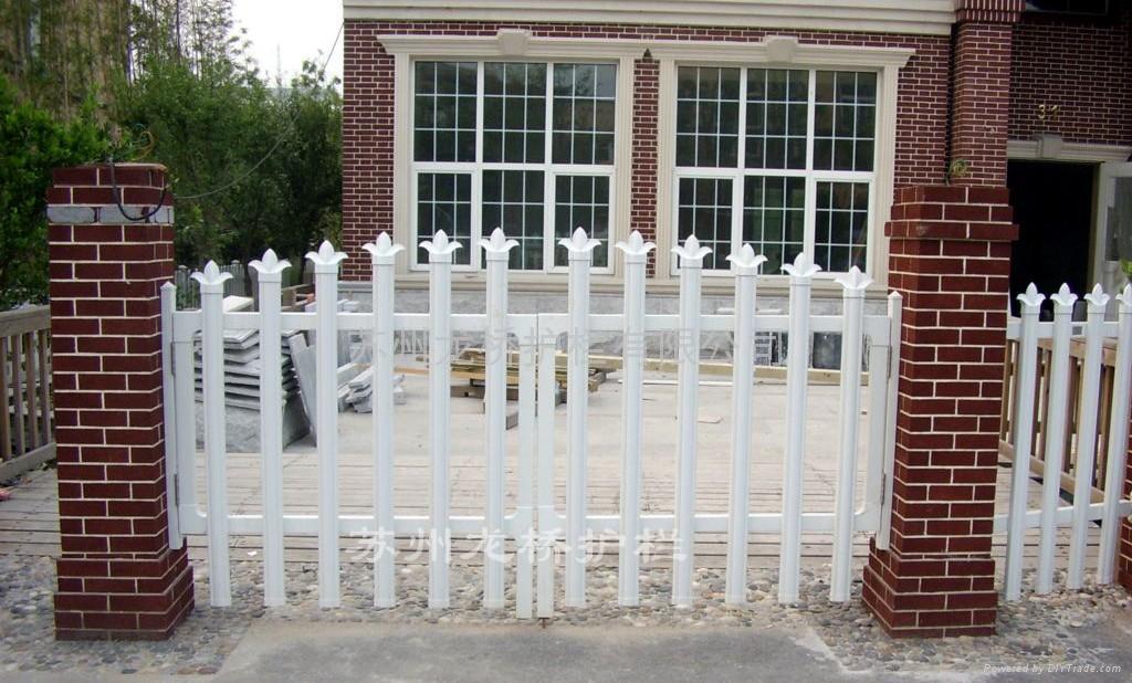 苏州PVC塑钢护栏 5