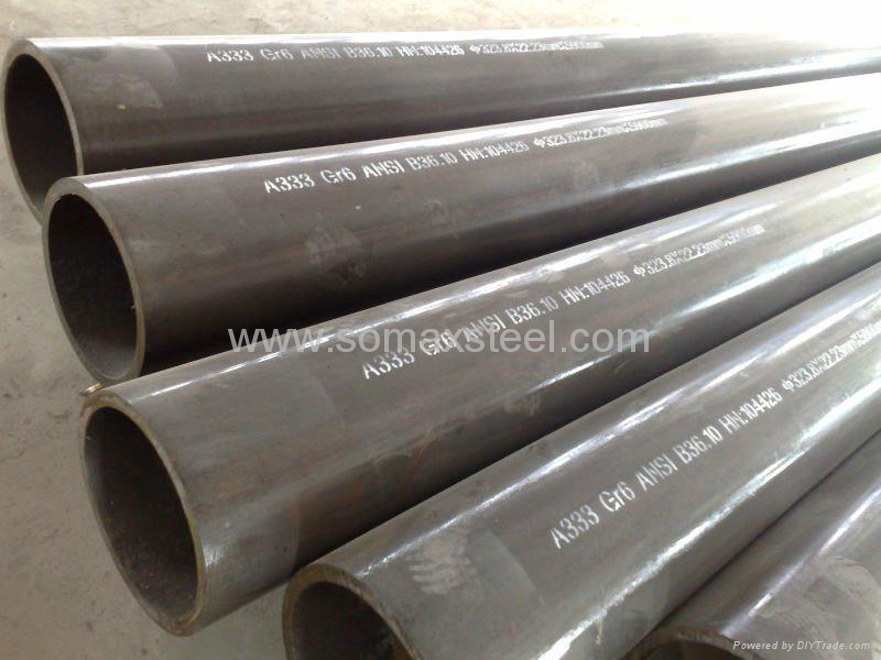 ASTM A333  Gr.6 Alloy Steel Seamless Pipe  1