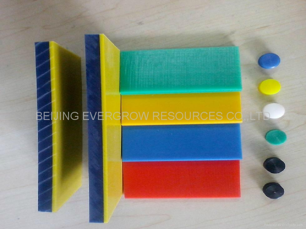 Double Color Uhmwpe Sheet China Manufacturer Plastic