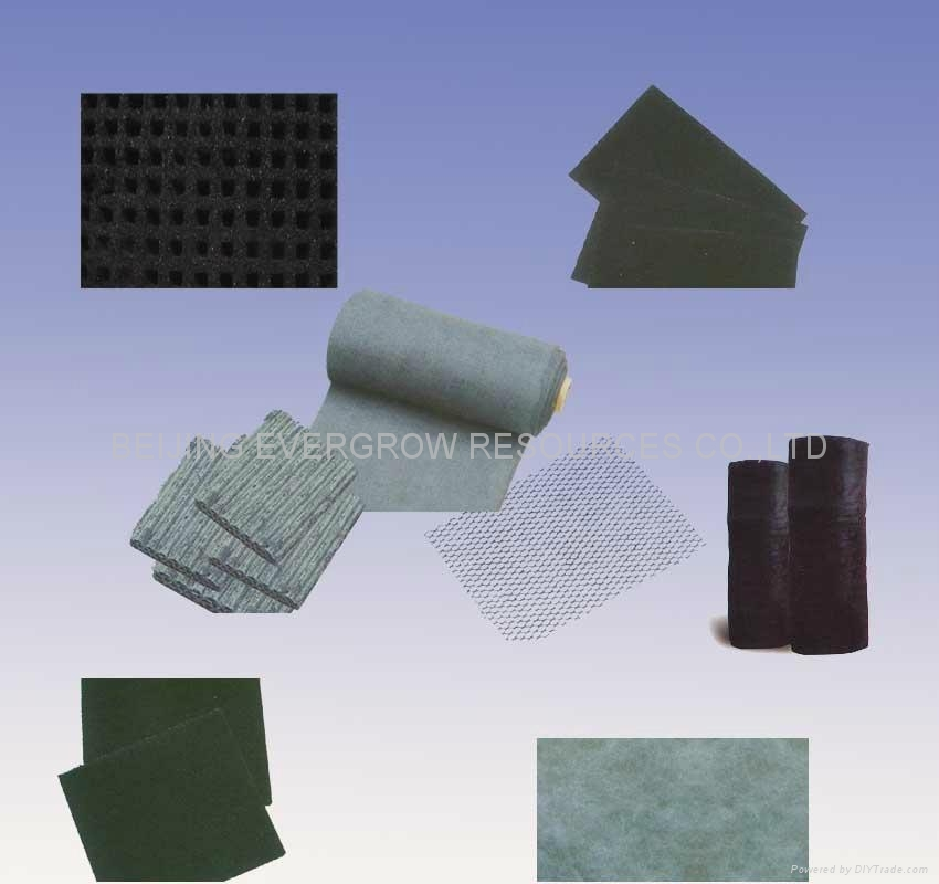 ACTIVATED CARBON PLATE