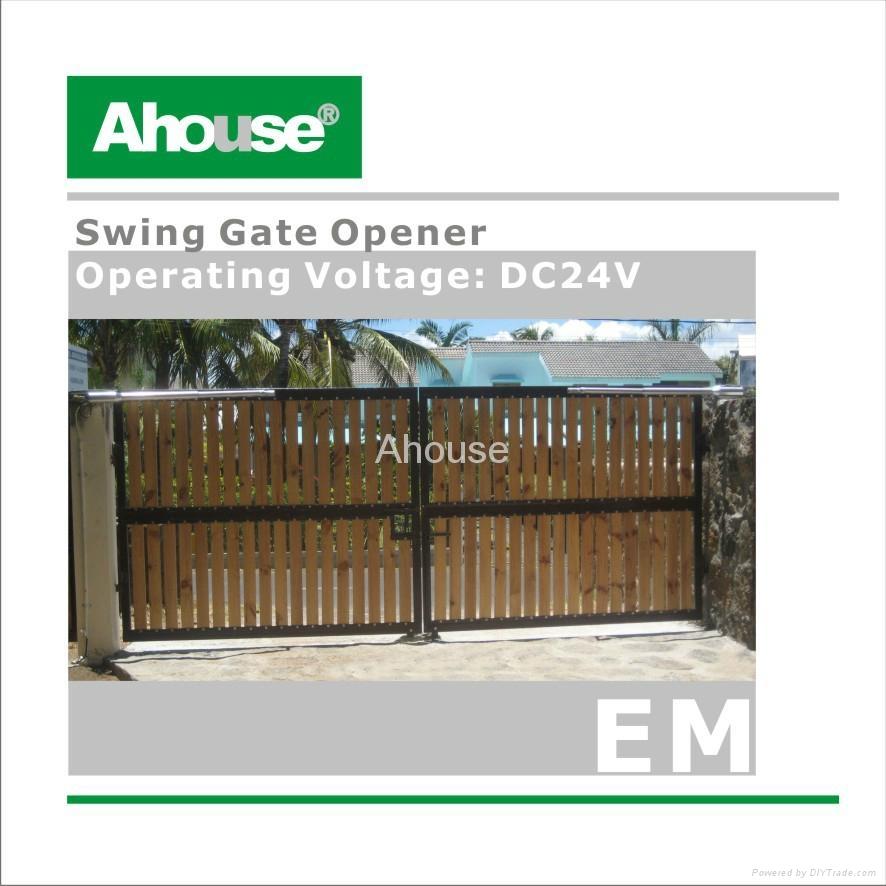 Solar swing gate opener ce em ahouse china