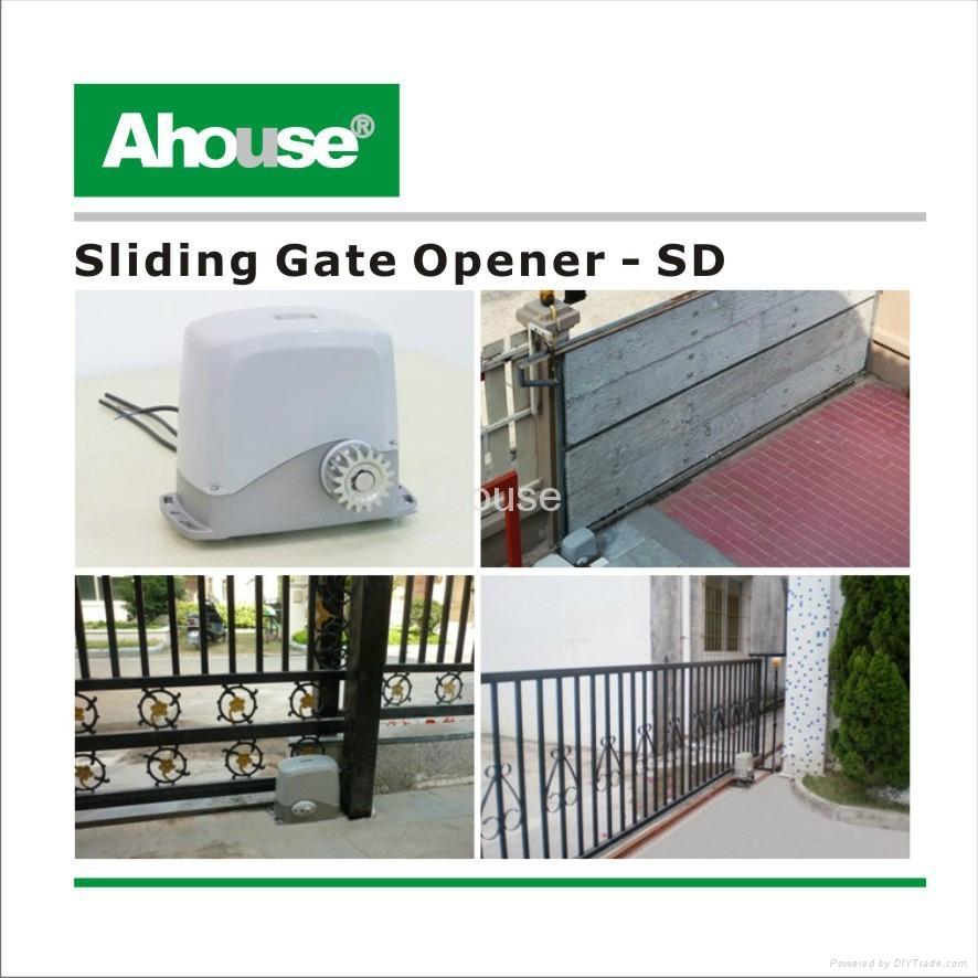 Ahouse solar sliding gate opener ce ip sd china