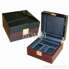 Fashion wooden watch box