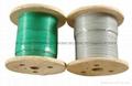 钢结构用钢丝绳 涂塑钢丝绳 钢