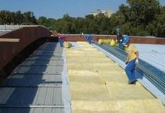 厂房保温用玻璃棉卷毡 玻璃棉保温被 保温毡