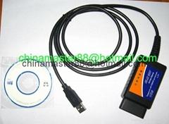 ELM 327 USB OBDII OBD 2 INTERFACE PC
