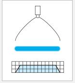 高精密均等扇形清洗喷嘴 1/8VVEA6010 2