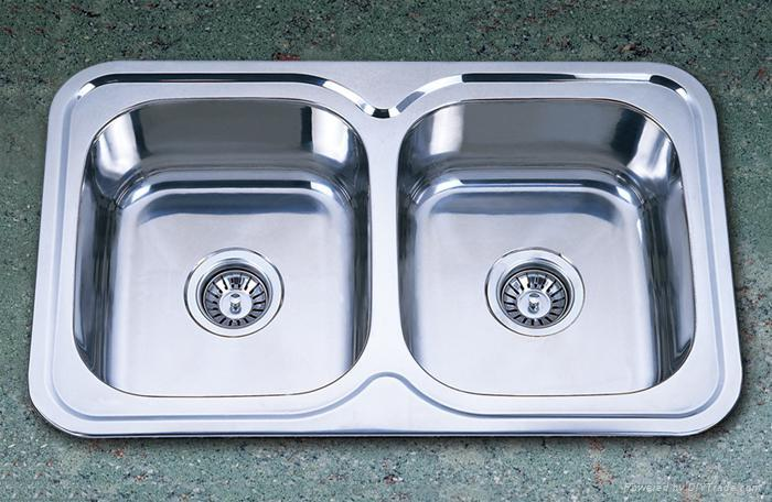 Double Bowl Stainless Steel Sinks 1 ...