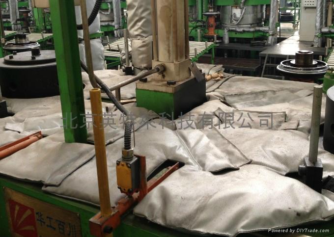 硫化机上热板隔热被,硫化机保温衣 2