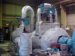 火电汽轮机可拆卸式隔热被