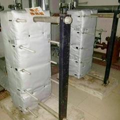 可拆卸式板式換熱器隔熱被