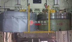 硫化機上熱板隔熱被,硫化機保溫衣