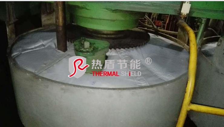 硫化机上热板隔热被,硫化机保温衣 4