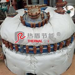 可拆卸式反應釜保溫套,反應釜保溫衣,反應釜隔熱套