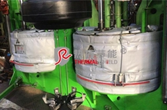 可拆卸式硫化机节能保温套,节能降耗,改善作业环境