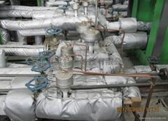 硫化机阀门组节能隔热被