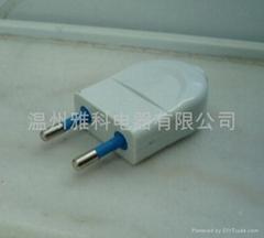 插頭,兩極電源插頭(0870)