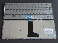 TOSHIBA T230 US系列(銀色)帶邊框原裝筆記本鍵