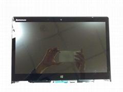 5D10H35588 LENOVO YOGA 3 14 14'' Touch Screen Digitizer Assembly + Frame
