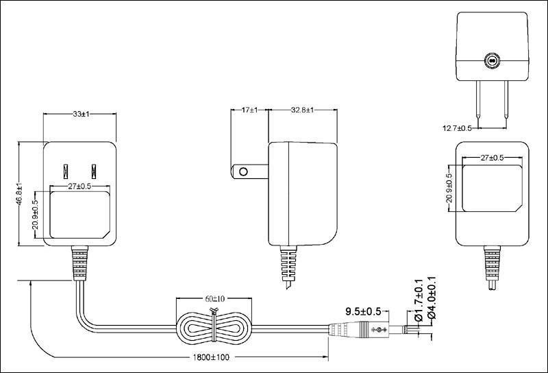 銷售5W美規開關電源&充電器 3