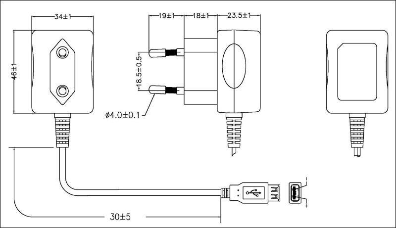 Sell 5W Series Switching AC/DC Adapters (GS plug) 2
