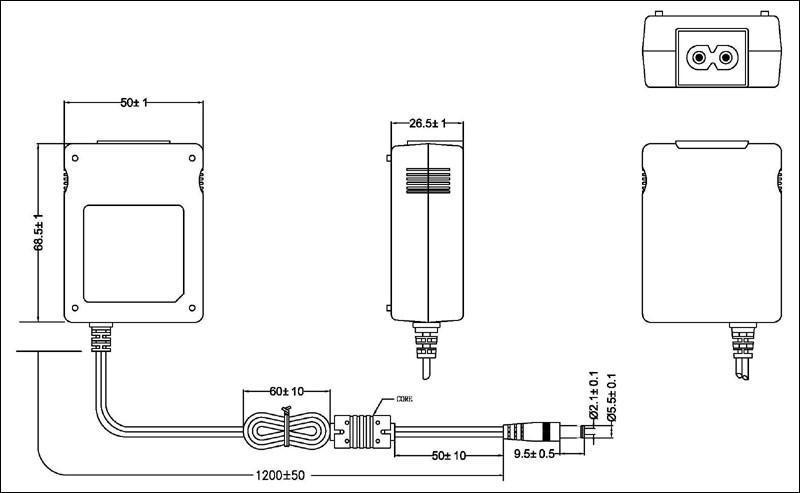 銷售12W 桌面式開關電源適配器 2