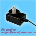 Sell 15W Series Wall mount Switching AC/DC Adapters  (US plug)