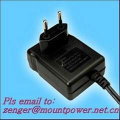 銷售15W歐規開關電源適配器