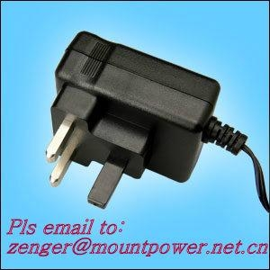 Sell 15W Series Wall mount Switching AC/DC Adapters  (UK plug) 1